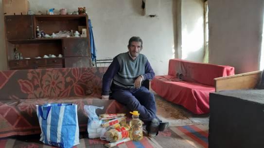 Albanese winter overleven dankzij Huizer voedselpakketten